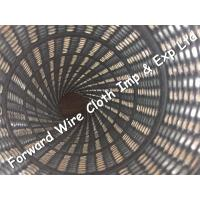 Quality Galvanized Spiral Seam Pipe  Spiral Tube Core  OD120mm hole shape rectangle Can be customized for sale