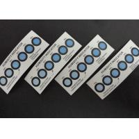 Wholesale Cobalt Free Humidity Indicator Cards Six Dots Blue To Pink For Semiconductor Packaging from china suppliers