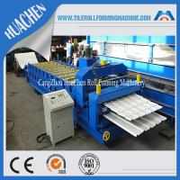 Wholesale Wall Double Layer Roll Forming Machine With Panasonic Omron Encoder from china suppliers