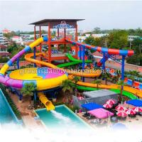 Wholesale Galvanized Pipe Water Park Equipment / Amusement Park Equipment Fiberglass from china suppliers
