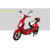 Wholesale Vespa Style 25-32km / H Pedal Assisted Electric Scooter Bicycle 250w-600w 48v Battery from china suppliers