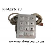 Wholesale CE / ROHS / FCC USB Interface 12 Keys SS Keypad for Self-Service Machine /  Kiosk , Anti-vanal from china suppliers