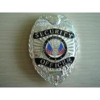 China Zinc Alloy Police Badge/Pin on sale