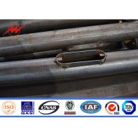 Wholesale Q235 Q345 Galvanized Steel Street Lighting Pole 4m , 5m , 6m,  8m , 10m , 12m Height from china suppliers