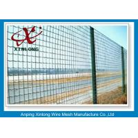 Wholesale Hot Dipped Galvanized Euro Panel Fencing Corrosion Resistant For Boundary from china suppliers