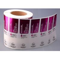 Quality Screen Printing Custom Sticker Labels For Plastic Bottles High Transparent for sale