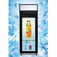 Wholesale Ice Cream Transparent Glass Door Refrigerator With Multimedia LCD Screen from china suppliers