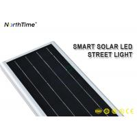 Wholesale Anti - Corrosion 60W Smart Control All In One LED Solar Street Light With Auto Lighting from china suppliers