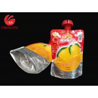 Wholesale 200ML Drink Packaging Pouch / Spouted Pouches Packaging with Three Layers Material from china suppliers