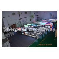 Wholesale Outdoor SMD 2727 PH5 Taxi LED Display Advertising with 192 by 64 Pixels from china suppliers