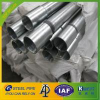 Hot Dipped Galvanized Steel Pipe With Threads Ends