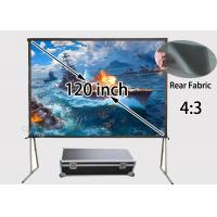 Wholesale Community Events fast fold Rear Projection Screens 120 inch 4 to 3 Format from china suppliers