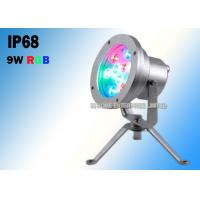 Quality 18W Self - Cleaning Led Waterfall Lights , Underwater Led Fountain Lights IH-5W0604 for sale