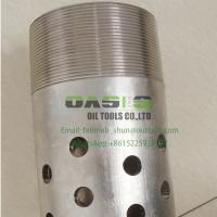 Wholesale China SS316L API K55/J55 Standard Perforated Steel Pipe for Drilling from china suppliers