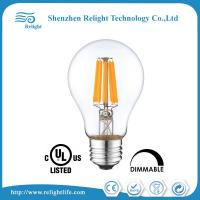 Wholesale Warm White Filament A 19 LED Edison Bulb , 6W E26 Led Daylight Bulb from china suppliers