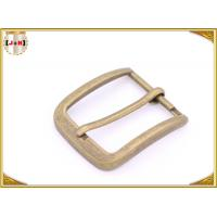 Wholesale Custom Design Various Size Zinc Alloy Metal Pin Belt Buckle For Men from china suppliers