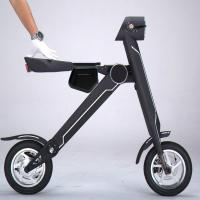 Wholesale Fast Mini Folding Foldable Electric Scooter Two Wheel Electric Vehicle For Your Special Trip from china suppliers