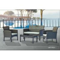 Buy cheap Metal Rattan Outside Table And Chairs Furniture Sets 4 Piece All Weather from wholesalers