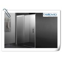 Wholesale Bathroom Sliding Glass Shower Doors Semi Frameless With Double Chrome Rollers from china suppliers