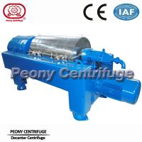 Wholesale Full Automatic Food Centrifuge Horizontal Solid Liquid Decanter Centrifuge / Solid Bowl 2-phase Centrifuges from china suppliers