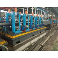 Wholesale Hot Rolled Coil Tube Mill Machine , Automatic SS Tube Mill Machine 110 * 110mm Pipe Size from china suppliers