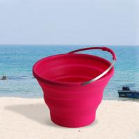 Wholesale Virson Wholesale Outdoor Folding Buckets Washing Basin Portable Water Bucket from china suppliers