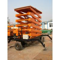 Wholesale 1000kg hydraulic aerial working platform Scissor Lift for 12000mm working height from china suppliers