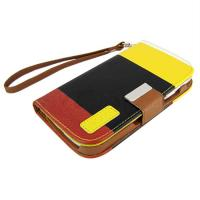 Wholesale SAMSUNG Leather Mobile Phone Pouches With Card Slots And Magnet Closing from china suppliers