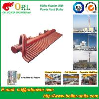 Wholesale ASME Standard Low Loss Header Boiler Parts / Boiler Steam Header from china suppliers