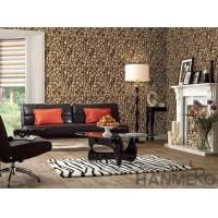 Wholesale 3D Stone Textured PVC Korea Design Wallpaper 1.06M for Home Office Decoration from china suppliers