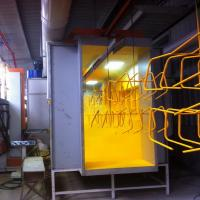 Wholesale Small Powder Spray Booth Powder Chamber Coating Booth Spray Booth from china suppliers