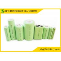 Buy cheap NIMH Rechargeable 9 Volt Nickel Metal Hydride Battery 1.2V OEM / ODM Welcome size 1/2A 1/2AA A AA AAA C D F SC recharge from wholesalers