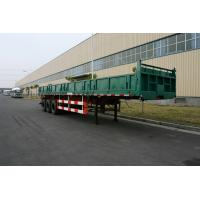 Buy cheap Commercial Side dump truck trailers with 3 Axles   from wholesalers