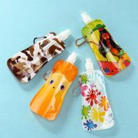 Wholesale Stand Up Drinking Water Bags , Reusable Plastic Water Bottle Bag from china suppliers