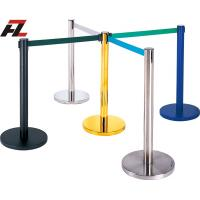 Wholesale Retractable Belt Stanchions for Airport-Hotel Retracted Barrier from china suppliers