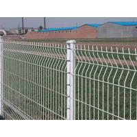 Wholesale Plastic Vinyl Coated Garden Wire Mesh Fence , Yellow Wire For High Way Road from china suppliers