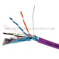 Wholesale RoHS CE ISO Cat6 FTP Cable Copper Cat 6 Plenum Rated Cable Waterproof from china suppliers