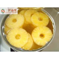 Wholesale Natural Organic Tropical Canned Fruit Can Of Half Slicd Pineapple from china suppliers