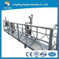 Wholesale aluminum  Motion Suspended Gondola Platforms, suspended cradle gondola Swing Stage from china suppliers