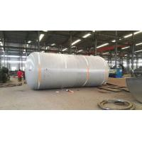 Wholesale Carbon Steel Pressure Tank , Vertical Horizontal Type Liquid Storage Tank from china suppliers