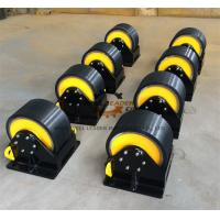 Wholesale PU Coated  Welding Turning Rolls To Rotate Pipes / Tubes / Cylinders from china suppliers