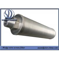 Buy cheap Candle Element For Automatic Backflushing Filter For Treatment Of Industrial Water from wholesalers
