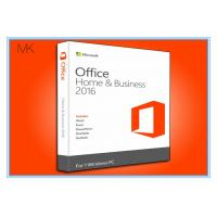 Wholesale BRAND NEW IN BOX Microsoft Office Professional 2016 Product Key Home & Business / Pro Plus English from china suppliers