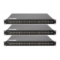 Wholesale Core network switch 10 / 100 / 1000M auto - adaptive RJ45 port 4 1000 / 10000M fiebr optic 10gb ethernet switch from china suppliers