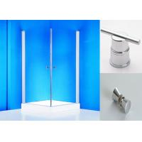 Wholesale Clear Glass Shower Screen Pivot Shower Enclosure with Rotated Profile from china suppliers