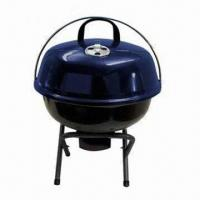 Quality Mini Kettle/Apple Barbecue 14-inch BBQ, Portable Charcoal Kettle BBQ Grill, 35cm cooking area for sale