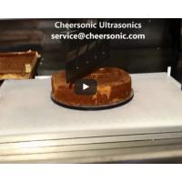 Buy cheap Low Scrap Rate Ultrasonic Food Cutter Cake Cutting Tools Ultrasonic Cake Slicer from wholesalers