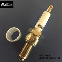 Wholesale White ceramic D8TC Motorcycle Spark Plug  D8EA For H0NDA from china suppliers