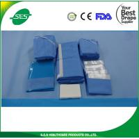 Wholesale EO Sterilized Disposable Surgery Laparoscopy Drape&Packs For Operation With CE/ISO Approved from china suppliers