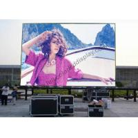Wholesale High Resolution Outdoor Advertising LED Display rgb with LVP Video Processor from china suppliers